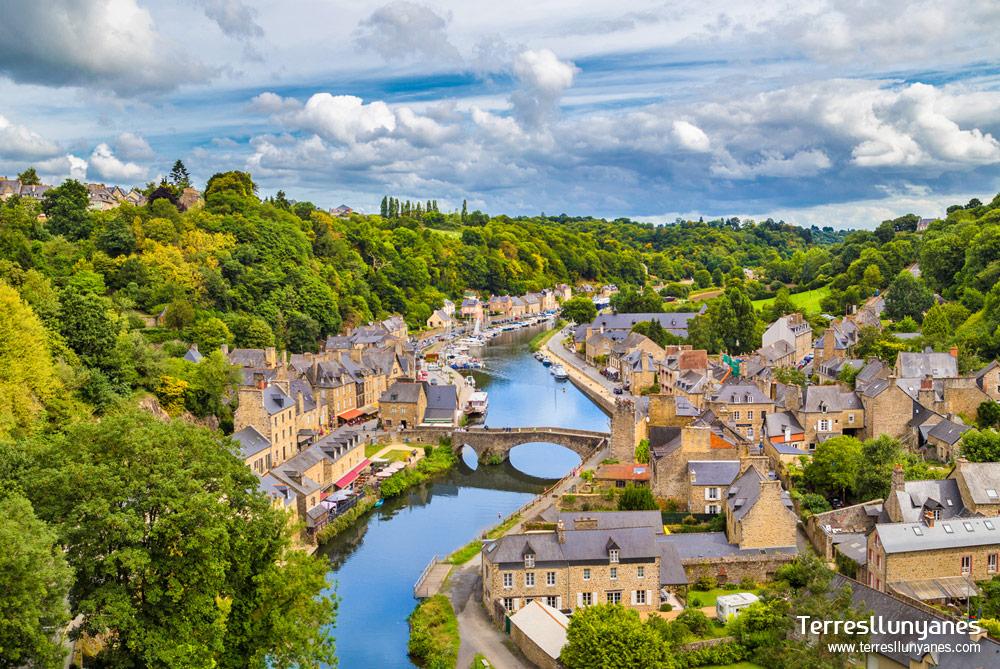 Vistas de Dinan. Bretaña Francesa